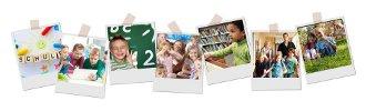 Polaroids mit verschiedenen Motiven Foto Fotolia