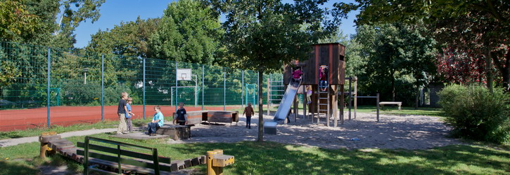 Spielplatz der Walther-Rathenau-Grundschule fotografiert von Daniel Winkler